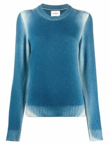Barrie faded round-neck jumper - Blue