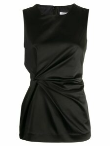 P.A.R.O.S.H. ruched sleeveless top - Black