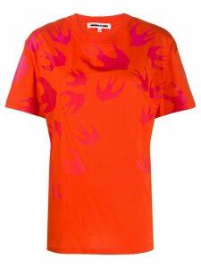 McQ Alexander McQueen printed T-shirt - ORANGE