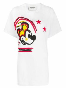 Iceberg Mickey Mouse long fit T-shirt - White