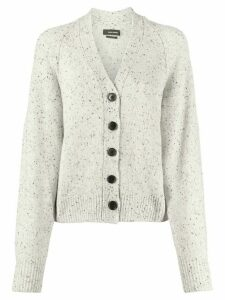 Isabel Marant speckled-knit cardigan - Grey