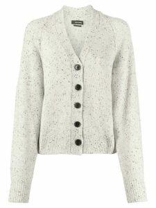 Isabel Marant speckled-knit cardigan - Grey