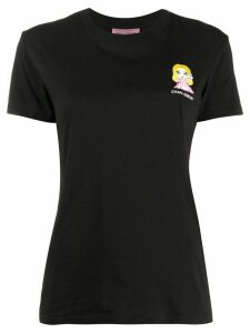 Chiara Ferragni @cfmascotte crew-neck T-shirt - Black