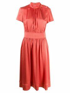Calvin Klein gathered dress - PINK