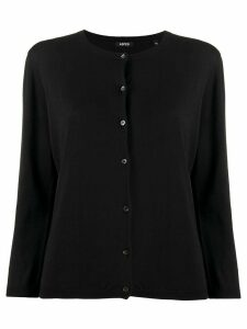 Aspesi round-neck cardigan - Black