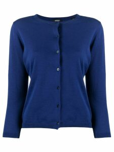 Aspesi round-neck cardigan - Blue