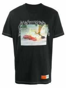 Heron Preston photo print T-shirt - Black
