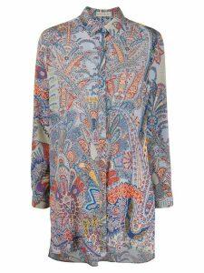 Etro paisley blouse - Blue
