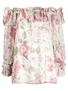 P.A.R.O.S.H. off the shoulder blouse - PINK