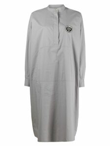 Mm6 Maison Margiela shirt-dress - Grey