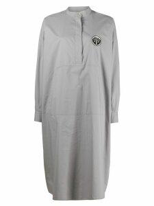 Mm6 Maison Margiela shirt-dress - Grey