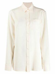 Maison Margiela classic plain shirt - NEUTRALS