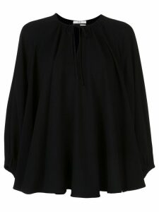 Co long sleeve swing blouse - Black