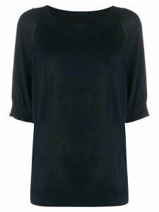 P.A.R.O.S.H. fine knit crewneck jumper - Black