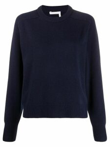 Chloé crew neck jumper - Blue