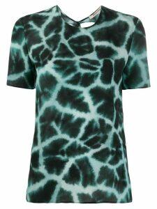 Roberto Cavalli tie dye T-shirt - Blue