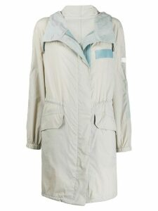Yves Salomon Army lightweight rain coat - Grey