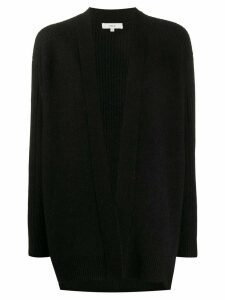 Vince ribbed back loose-fit cardigan - Black