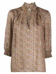 Ba & Sh Dalas patterned blouse - NEUTRALS