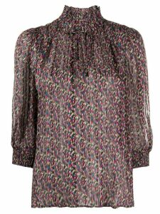 Ba & Sh Dalas patterned blouse - Black