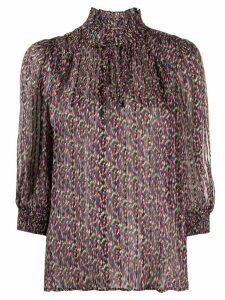 Ba & Sh Dalas patterned blouse - Black