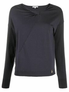 Patrizia Pepe lightweight sweatshirt - Grey