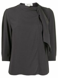 Ba & Sh Carlos draped top - Grey