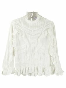 IRO Orrie ruffled blouse - White