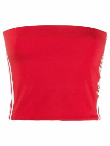 adidas logo bandeau top - Red