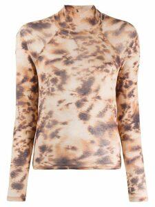 Nanushka tie dye jumper - NEUTRALS