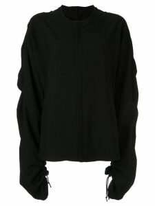 Yohji Yamamoto knitted relaxed fit jumper - Black