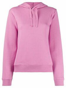 A.P.C. basic hoodie - PINK