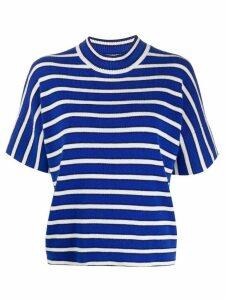 Barrie rib knit top - Blue