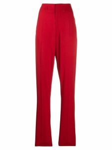 Isabel Marant Amaya high-waisted trousers - Red