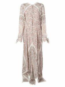 Altuzarra Northwest floral print maxi dress - PINK