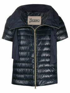Herno short sleeve puffer jacket - Blue