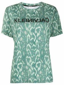 Calvin Klein python-print T-shirt - Green