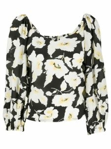 Ba & Sh Fancy floral print blouse - Black