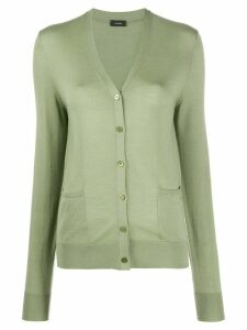 Joseph v-neck knitted cardigan - Green