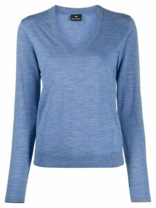 PS Paul Smith V-neck slim-fit jumper - Blue