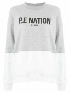 P.E Nation Fastest Lap sweater - Grey