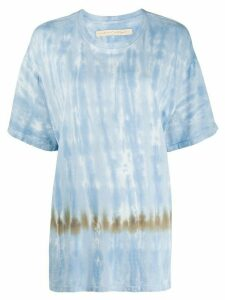 Raquel Allegra short sleeve stripe dye T-shirt - Blue