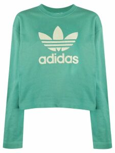 adidas Premium embroidered logo sweatshirt - Green