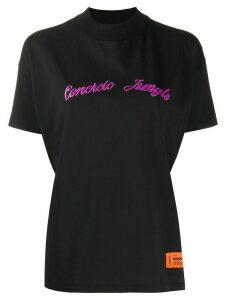 Heron Preston Concrete Jungle mock neck T-shirt - Black
