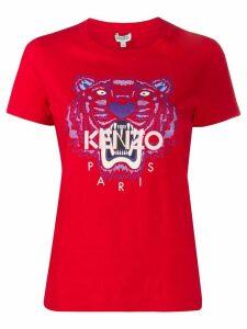 Kenzo motif detail T-shirt - Red