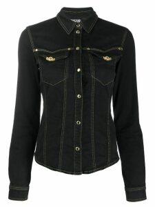 Versace Jeans Couture denim shirt - Black