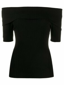 P.A.R.O.S.H. off the shoulder jumper - Black