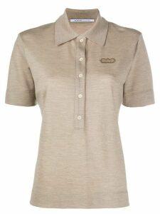 Agnona cashmere polo shirt - NEUTRALS