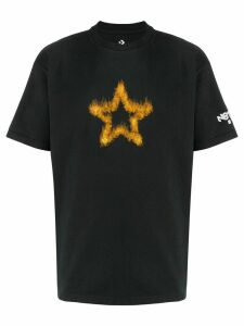 Converse playing with fire print T-shirt - Black
