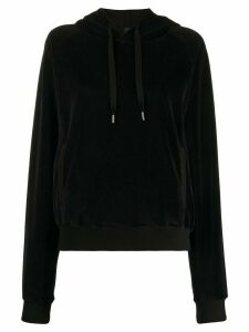 Haider Ackermann velour sweatshirt - Black